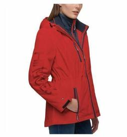Tommy Hilfiger FIRE/NAVY Ladies 3-in-1 Systems Jacket lv Siz