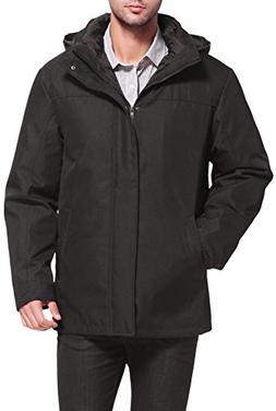 "BGSD Men's ""Brent"" 3-in-1 Waterproof Hooded Down Parka Coat"