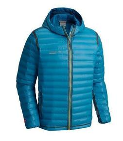 $250 NEW Men Columbia Titanium Outdry Ex Gold Down Hooded Ja