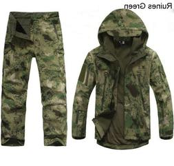 2pcs new outdoor winter hunting mens jacket