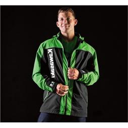 Kawasaki 3-IN-1 Waterproof Jacket Black - Men's