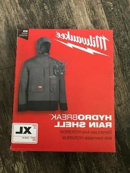 Milwaukee 310G-XL Hydrobreak Rain Shell Jacket Men's XL or X