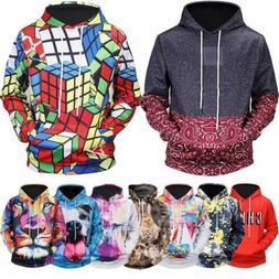 3D Print Men Women's Hoodie Sweater Sweatshirt Jacket Coat P