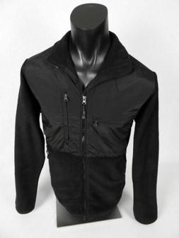 $60 Mens Sierra Pacific Zip Front Fleece Coat Jacket Black w