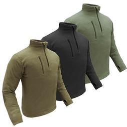 Condor 607 Flat Seam Quater Zip Tactical Ventilated Fleece P