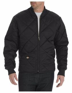 Dickies 61242 Black & Dark Navy Diamond Quilted Nylon Jacket