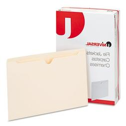 Universal 72500 Economical File Jackets, Legal, 11 Point Man