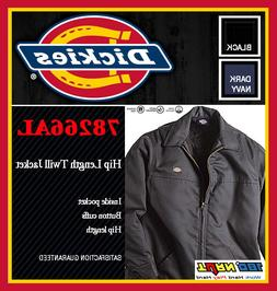 Dickies 78266AL Mens Hip Length Twill Winter Jacket, Quilt L