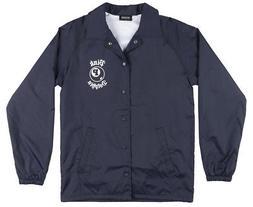 8 ball coaches jacket mens navy windbreaker