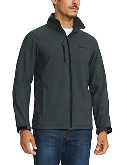 Baleaf Men's Waterproof Windproof Outdoor Softshell Jacket M