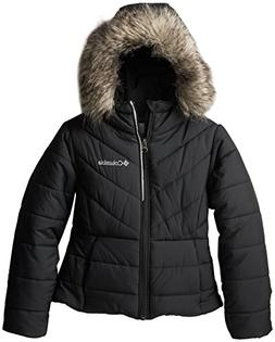 Columbia Big Girls'  Katelyn Crest Jacket, Black, Medium