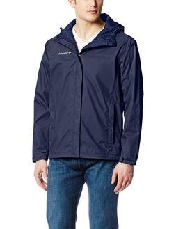 Columbia Men's Watertight II Front-Zip Hooded Rain Jacket,Bl