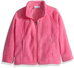 Columbia Toddler Girls'' Steens MT II Fleece, Pink Ice, 3T