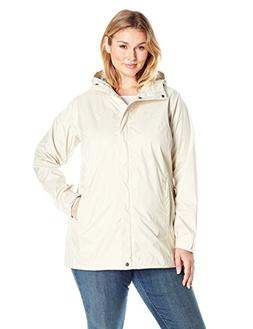 Columbia Women's Splash A Little Rain Jacket , Chalk Lace Pr