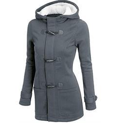 HOT Sale,AIMTOPPY Fashion Women Windbreaker Outwear Warm Woo