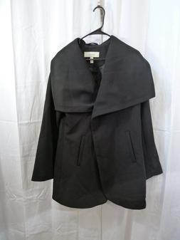 Lark & Ro Women's Single Button Jacket Black Size Medium