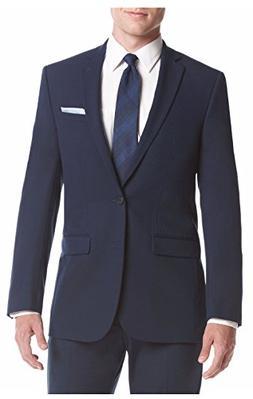 Men's VAN HEUSEN Flex Navy Slim Fit Stretch Suit Jacket  Nwt