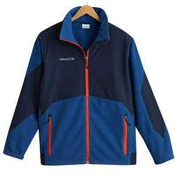 New Mens Columbia Nordic Trekker Fleece Jacket Size L MSRP $