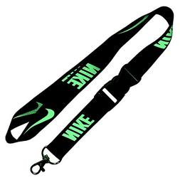 Nike Black Lanyard with Neon Green
