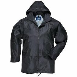 Portwest Classic Rain Jacket, Small to XXL, 3 colours - Blac
