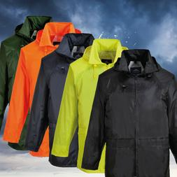Portwest US440 Classic Waterproof  Rain Jacket wth Pack Away