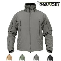 tactical windproof mens jackets waterproof soft shell