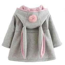 Urtrend Baby Girl's Toddler Fall Winter Coat Jacket Outerwea