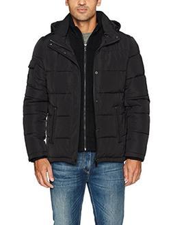 Calvin Klein Men's Alternative Down Puffer Jacket with Bib &