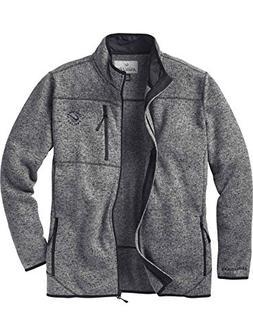 Legendary Anglers Men's Freestone Sweater Fleece Jacket Midn
