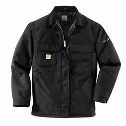Carhartt Men's Arctic Quilt Lined Yukon Coat,Black,Large