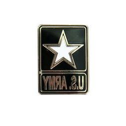 Army Star Pin 1.5 inch JACKET VEST hat  PIN