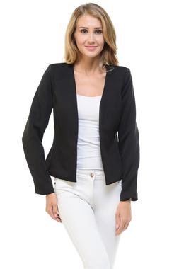Auliné Collection Women's Candy Color Tailored Fit Open S