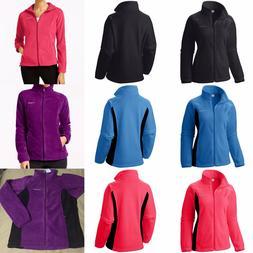 AUTHENTIC COLUMBIA WOMEN's Winter Full-Zip Fleece Jacket XS-