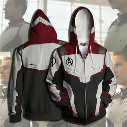 Avengers 4 Endgame Advanced Tech Hoodies Sweatshirts Cosplay