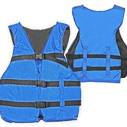 Basic Coast Guard Approved Life Jacket By Hardcore Water Spo