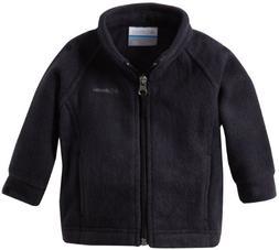 Columbia Baby Girls' Benton Springs Fleece Jacket, Black, 12