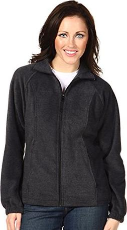 Columbia Womens Benton Springs Full Zip Jacket -X-Large Char