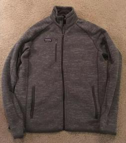 PATAGONIA Better Sweater Fleece Jacket M's L Nickel Forge
