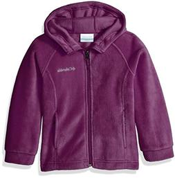 Columbia Girls' Big Benton II Hoodie, Dark Raspberry, Large