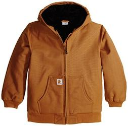 Carhartt  Big Boys' Active Jacket,Carhartt Brown,XL