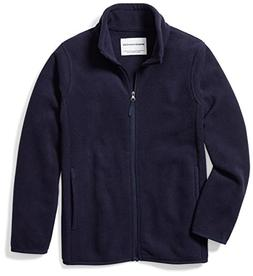 Amazon Essentials Big Boys' Full-Zip Polar Fleece Jacket, Ni