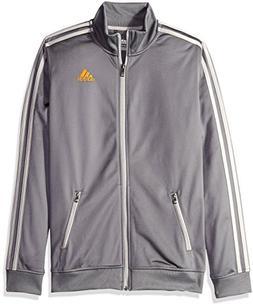 adidas Big Boys' Separates Training Track Jacket, Granite/MG