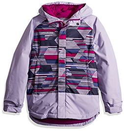 Columbia Big Girl's Mighty Mogul Jacket, Medium, Soft Violet