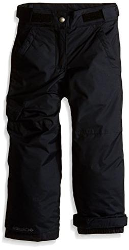Columbia Big Boys' Ice Slope II Pant, Black, Small