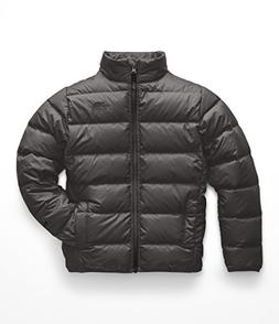 The North Face Boy's Andes Jacket - Graphite Grey & TNF Blac