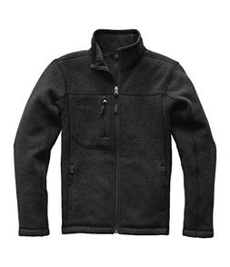 The North Face Boy's Gordon Lyons Full Zip Jacket - TNF Blac