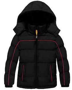 Wantdo Boy's Padded Winter Coat Thicken Warm Windproof Puffe