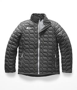 The North Face Boy's Thermoball Full Zip - Graphite Grey - X