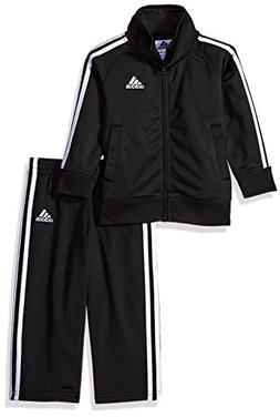 adidas Boys' Baby Tricot Jacket and Pant Set, Midnight Adi,