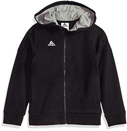 adidas Boys' Big Athletics Jacket, Black, S